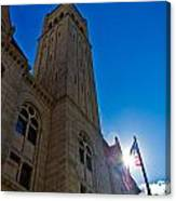 Courthouse Tower Canvas Print