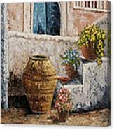 Courtyard 2 Canvas Print