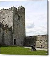 Courtyard Cahir Castle Canvas Print
