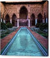 Courtyard Of The Maidens Canvas Print
