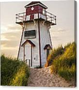 Covehead Harbour Lighthouse Canvas Print