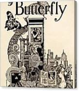 Cover Of The Butterfly Magazine Canvas Print