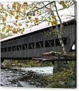 Covered Bridge Albany Canvas Print