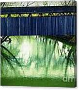 Covered Bridge In Kentucky Canvas Print