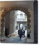 Covered Walkway Of London Canvas Print