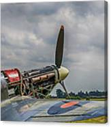 Covers Off Hawker Hurricane Canvas Print