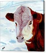 Cow A Bunga Canvas Print