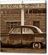 Cow Canyon Trading Post 1949 Canvas Print