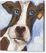 Cow Fantasy Two Canvas Print