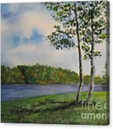 Cowan Lake Canvas Print