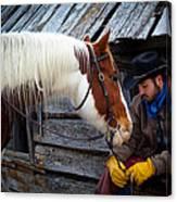 Cowboy Blues Canvas Print