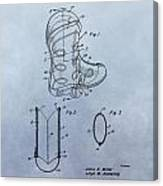 Cowboy Boot Patent Canvas Print