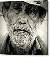 Cowboy Immokalee Fl Canvas Print