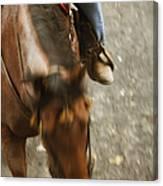 Cowboy Canvas Print