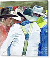 Cowboys Canvas Print