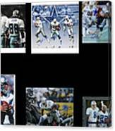 Cowboys Triple Threat  Autographed Reprint Canvas Print