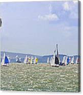Cowes Week Isle Of Wight Canvas Print