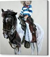 Cowgirl Dee Canvas Print