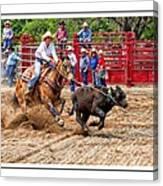 Cowgirl Gotcha Canvas Print