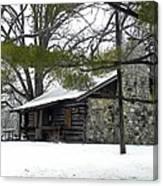 Cozy Cabin Canvas Print