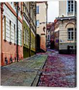 Cozy Old Town Canvas Print