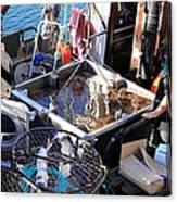 Crab Boat Canvas Print