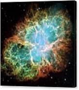 Crab Nebula (m1) Canvas Print