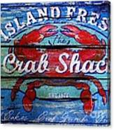 Crab Shack Canvas Print