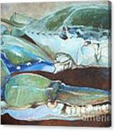 Crab Tonight Canvas Print