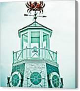 Crabby Weathervane Canvas Print