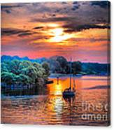 Crack O' Dawn Canvas Print