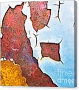 Cracked Gate Detail Canvas Print