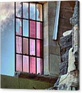 Cracked Pink Canvas Print