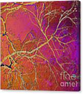 Crackling Branches Canvas Print