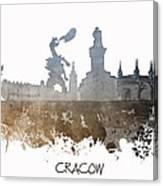 Cracow City Skyline Canvas Print