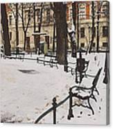 Cracow Park Canvas Print