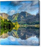 Craf Nant Lake Canvas Print