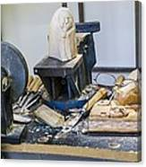 Craftsman Work Table Canvas Print