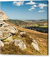 Crags Over Rothbury Canvas Print