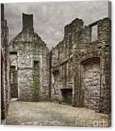 Craigmillar Castle Ruin Edinburgh Canvas Print