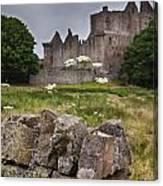 Craigmillar Castle Ruin Canvas Print