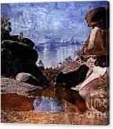Cranky Rocks Canvas Print