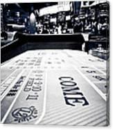 Craps Table In Las Vegas Canvas Print