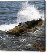 Crashing Waves - Rhode Island Canvas Print