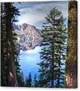 Crater Lake 1 Canvas Print