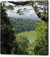 craterlake in Montagne d'Ambre National Park Madagascar Canvas Print