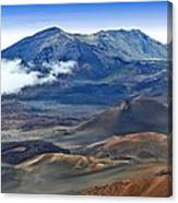 Craters And Cones Canvas Print