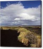 Craters Of The Moon Rainbow Canvas Print