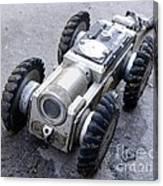 Crawler Pipeline Camera Canvas Print