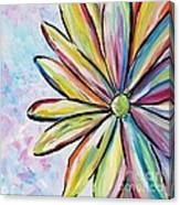 Crazy Daisy Canvas Print